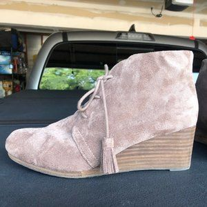 Heeled Suede Booties